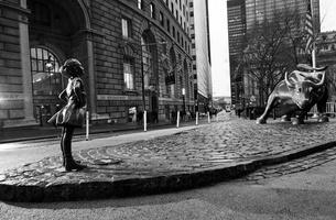 McCann's 'Fearless Girl' Stares Down Wall Street's Charging Bull on IWD 2017