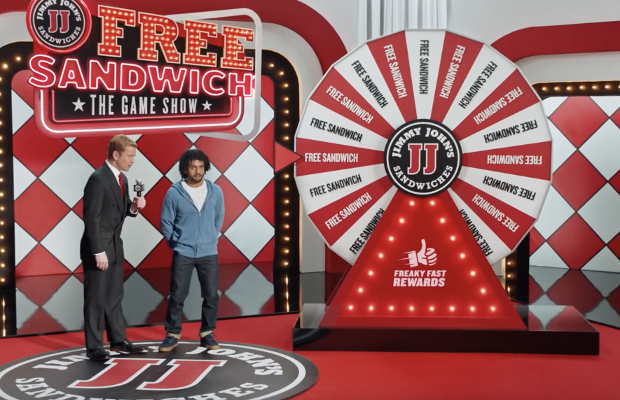 Jimmy John's National Campaign is Handing Out Free Sandwiches with Freaky Fast Rewards