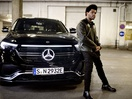 The Weeknd Drives Electric in Mercedes Benz Campaign