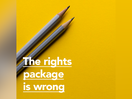 The Rights Package is Wrong