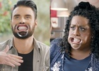 Sainsbury's Festive Campaign Challenges Celeb Duos to Sing Wearing Dental Dams