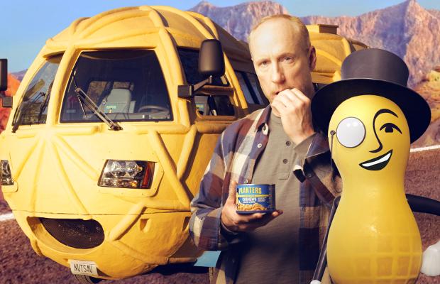 Mr. Peanut's Nutty Adventure Gets a Super Bowl Spot