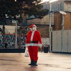 Grumpy Self-Isolating Santa Waves Turkey Leg at Progressive Views in Relatable Christmas Movie