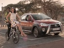 FCB Joburg & Toyota Set BMX Champ Sifiso Nhlapo the Ultimate Challenge