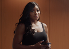Serena Williams Takes on Stephen Curry in a Battle Of The Paddle