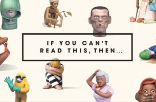 FCB Inferno Launches Alphabet of Illiteracy for Project Literacy
