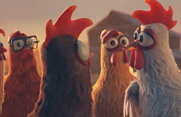Poulehouse Cares For Chickens in this Clucking Eggcellent Animated Campaign