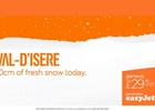 Easyjet's Jet Off-Ski Campaign by VCCP Tells Us When to Make the Best of The Snowfall