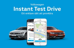DDB Stockholm and Volkswagen Launch the 'Instant Test Drive'
