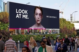 Women's Aid Combats Domestic Violence with Shocking Interactive Screen