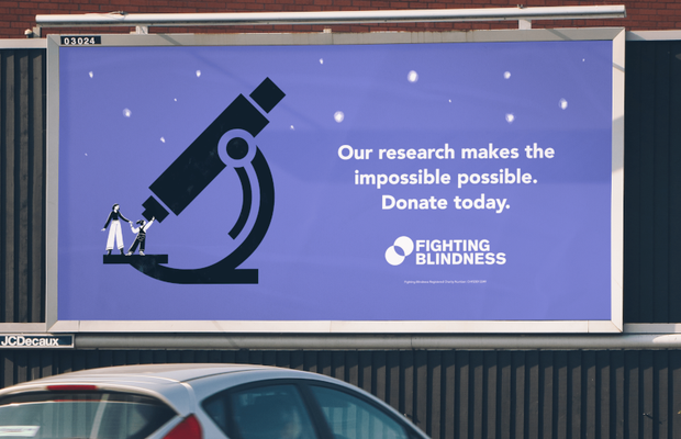 Fighting Blindness Charity Makes the Impossible Possible in Playful Campaign