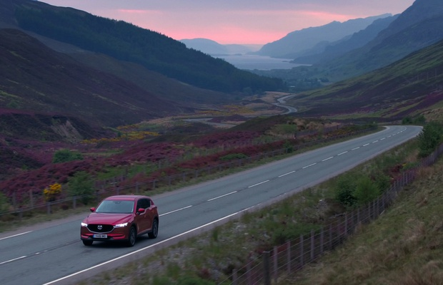 LS Productions Secures Stunning Scottish Route in Seamless Co-Production for Mazda's Latest Models