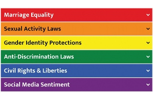 This Pride Flag Helps LGBTQ+ Travellers See the World