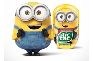 vml poland makes mountains out of minions for new tic tac caign