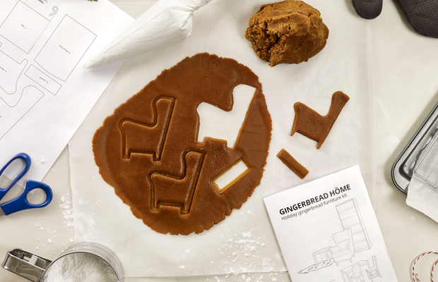 IKEA Treats You to Delicious Furnishings for Your Gingerbread Höme This Christmas