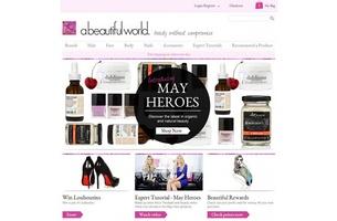 Publicis' E-Commerce Site for 'abeautifulworld'   LBBOnline