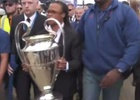 Nissan's 'Grand Detour' Delivers UEFA Champions League Trophy in Style