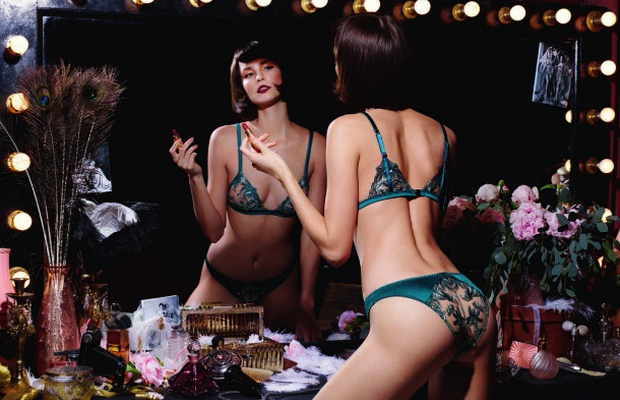 cefc98b77ff Rankin Shoots Art Deco-Inspired Coco de Mer and V A Lingerie Collection