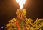 Crown Melbourne and Geometry Create Fire Dragons For Lunar NY
