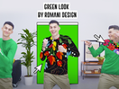 Fashion Brand Romani Design Serve the 'Green Look' Virtual Outfit