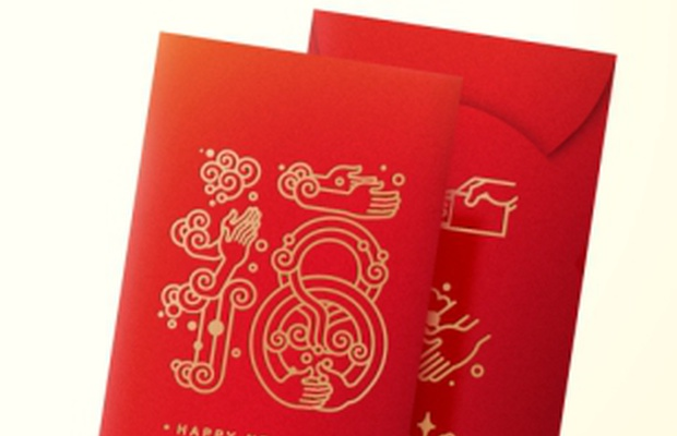 How This Gift-giving Packet is Preventing the Spread of Germs for Chinese New Year