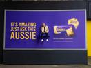 Behind the Work: Cadbury's Caramilk Superfan Sits on Billboards Across the UK