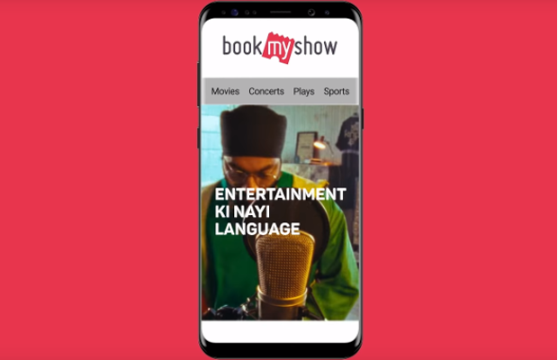 Indian Entertainment Platform BookMyShow Launches Brand Ad