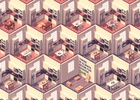 The Sims Meets M.C. Escher in Ikea's New Saudi Arabian Campaign
