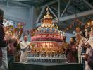 Sainsbury's Builds Zoetrope Cake to Celebrate 150 Years of Care and Community