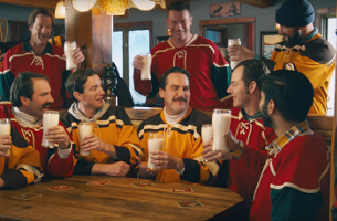 Dairy Farmers of Canada Encourages You To 'Pour A Tall Cold One'