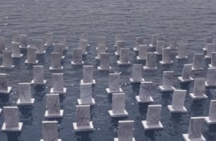 TBWA\Istanbul's Floating Cemetery Memorialises Refugees Lost at Sea