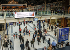 IG Brings Market News Direct to London City Commuters with DOOH Branding Drive