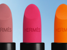 Hermès Turns Orange to Red for First Beauty Campaign