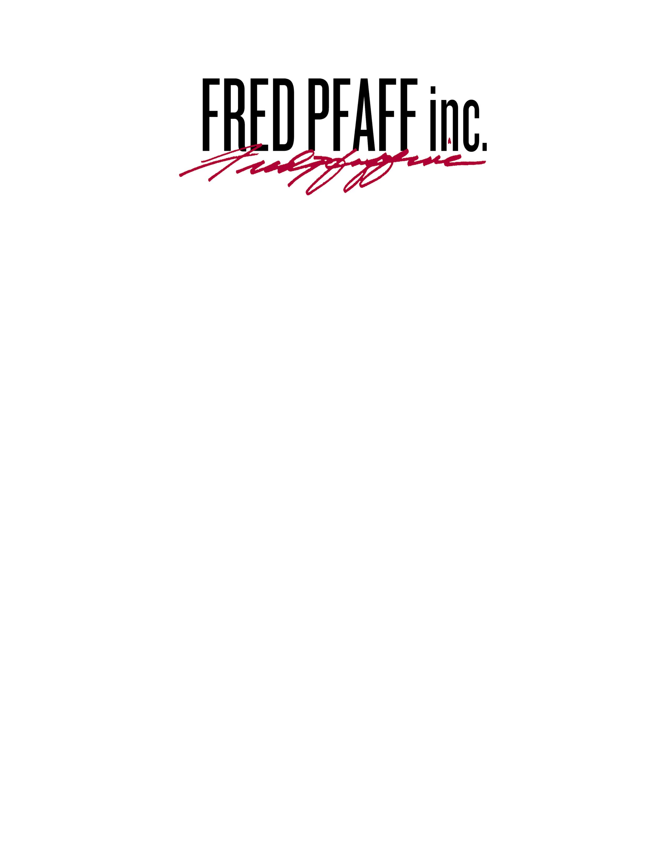 Fred Pfaff Inc.