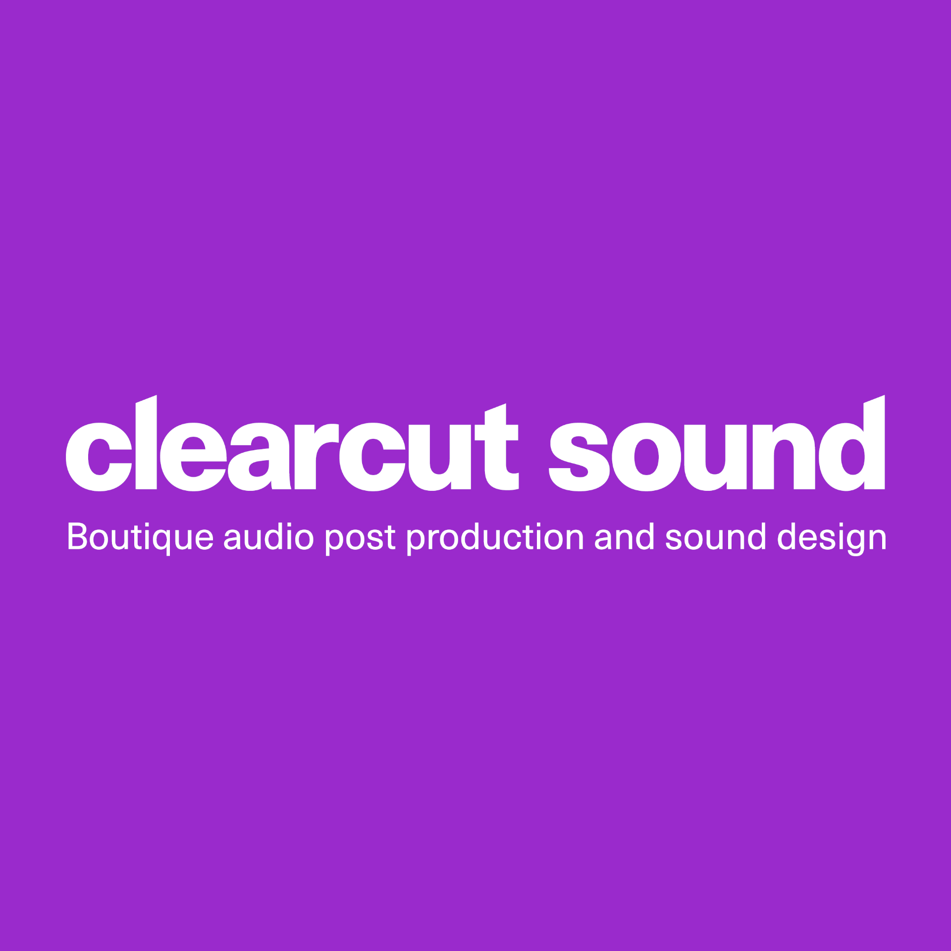 Clearcut Sound Studios