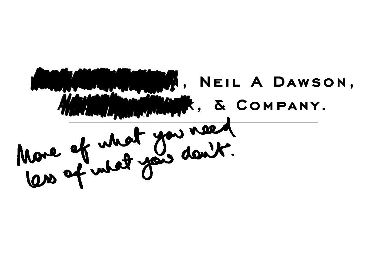 Neil A Dawson & Company