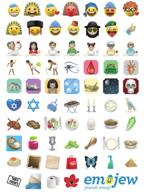 EMOJEW  The First Jewish Emoji App | LBBOnline