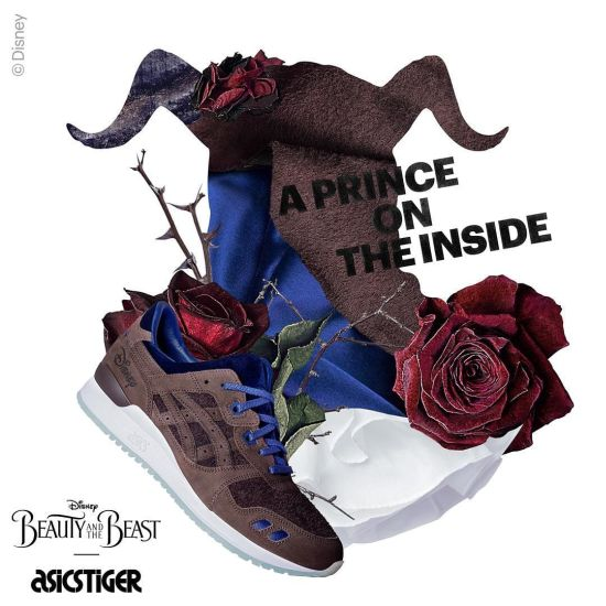 adb690330d11 ASICS Tiger x Disney Launch Limited Edition Beauty and The Beast ...