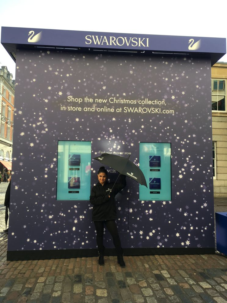 f40fa17a5 ... Swarovski will continue to spread sparkle and festive cheer by  launching 'Sparkle Street' at the popular Eat Street location in London's  Westfield ...