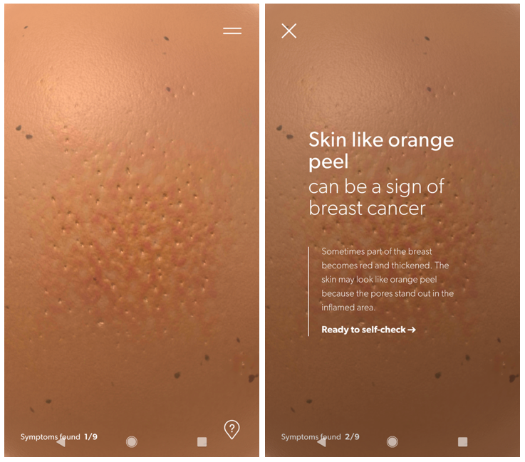 Breast Cancer Foundation Nz S Pre Check App Teaches Your Hands How To Look For Breast Cancer Lbbonline
