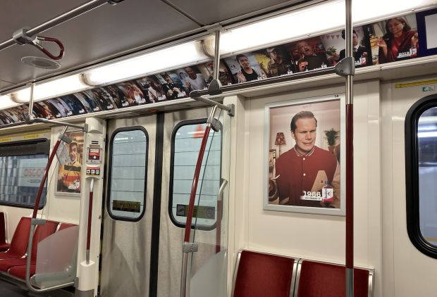 Buckley Subway Ad