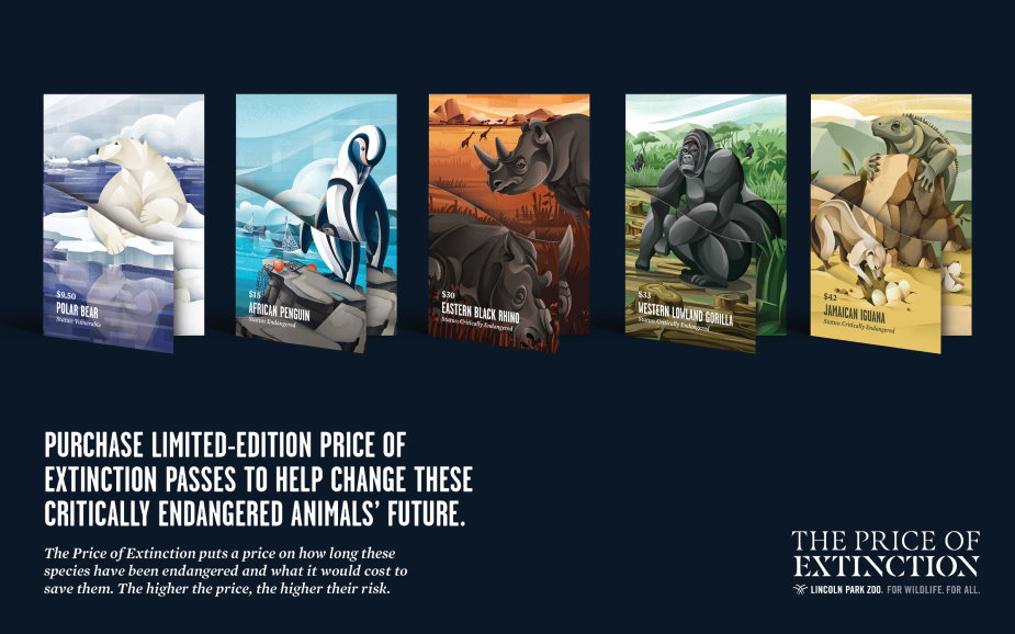 Lincoln Park Zoo Highlights The Price Of Extinction For Earth Day Lbbonline