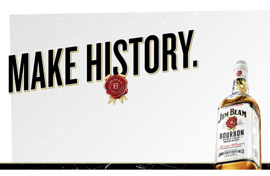Jim Beam's First Global Campaign