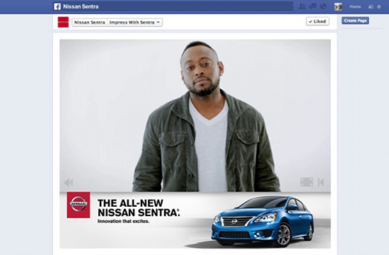 Nissan Teams Up with Omar Epps
