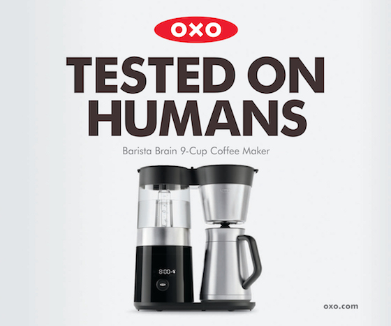 OXO Tests Products on Humans in New Campaign via MUH-TAY-ZIK | HOF-FER