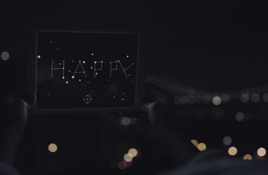 AKQA Sends Messages by Starlight