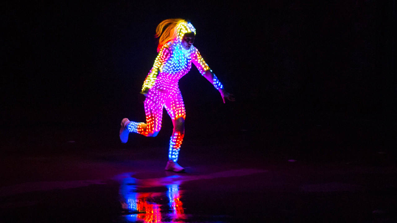 Your Shot: FSM's 'Glow Girl' Invites You To Catch Her If You Can