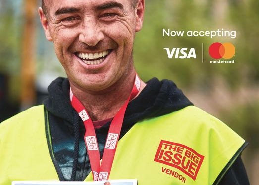 Town Square Launches New 'Now accepting' Campaign for The Big Issue