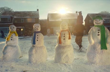 Alan Friel Shoots Asda Christmas Campaign