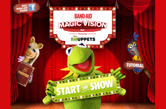 The Muppets Bring Healing To Your Palm Through  BAND-AID®